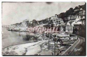 Postcard Old Marseille Corniche Promenade