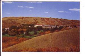 Tuberculosis Sanatorium, Qu'Appelle Valley Saskatchewan, Aug 1965 Written on ...