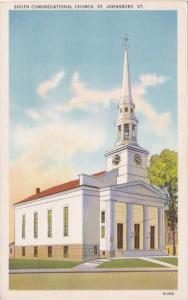 Vermont St Johnsbury South Congregational Church