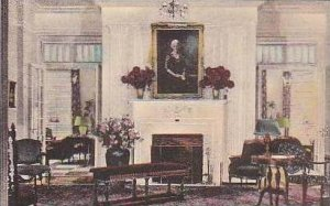 Ohio Tiffin Reception Room Showing Portrait of Mrs Julia T Roth Founder Natio...