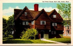 Massachusetts Salem Old Witch House Built 1642 Curteich