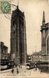CPA DUNKERQUE - Le Beffroi (137151)