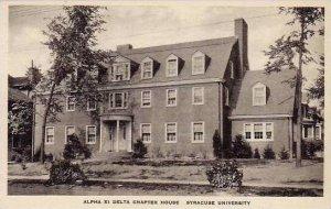 New York Syracuse University Alpha XI Delta Chapter House Artvue