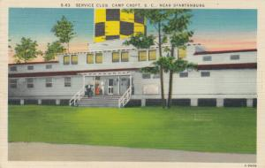 CAMP CROFT , South Carolina, 1945 ; Service Club