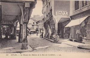 Davy Chapelier, Le Dessous Des Maisons De La Rue Des Cordeliers, Dinan (Côte...