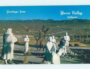Unused Pre-1980 PARK SCENE Yucca Valley - San Bernardino California CA H1668