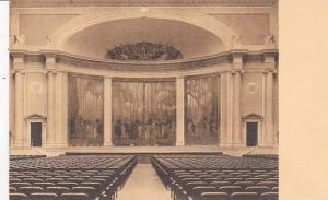 Washington DC Superb Painted Hangings Depictiong Revolutionary Scenes At Back...