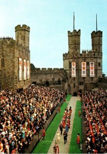 Wales Caernarvon Castle Investitutre Of H R H Prince Charles Prince Of Wales ...