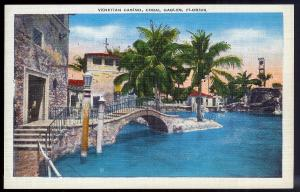 Venetian Casino Coral Gables FL unused c1940's
