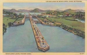 Panama Canal Miraflores Locks Curteich