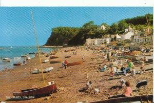 Devon Postcard - The Sands - Shaldon - Ref 12095A