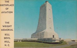 The Birthplace of Aviation,  The Wright Memorial,  Kill Devil Hill,  North Ca...