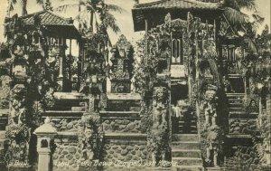 indonesia, BALI KUTA, Pura Dewa Hindu Temple (1910s) Postcard