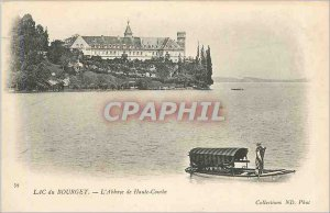 Old Postcard Lake Bourget The Haute Combe Abbey