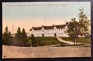 Mint Canada Color Picture Postcard Mounted Police Barracks Calgary