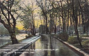 North Race, Looking S. E. from Franklin Street, Wilmington, Delaware, PU-1908