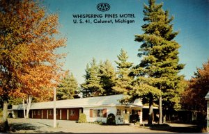 Michigan Calumet Whispering Pines Motel