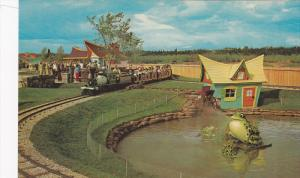 Frog Pond And Old Mill Near Station, The Children's Zoo, Miniature Train, Sto...