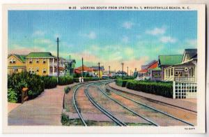 Looking South from Station # 1, Wrightsville Beach NC