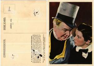 CPA W. C. Fields and Freddie Bartholomew FILM STAR (399082)