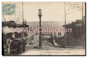 Old Postcard Luke sea Calvados Gateway