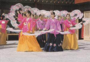SOUTH KOREA, 1950-1970´s; Korean Traditional Fan Dance