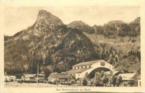 Postcard Germany Das Passionstheater mit Kofel
