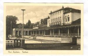 RP;Bird's Eye View, Bad Nauheiml, Kurhaus, Hesse, Germany, 10-20s