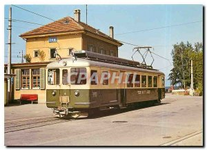 Postcard Old Tauffelen Ins Der Bahn BTI BDe 4 4 ??6