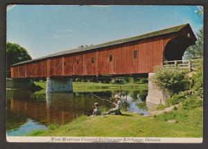 Covered Bridge - West Montrose Bridge Near Kitchener ON