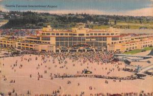 Washington Seattle Tacoma International Airport Vintage Postcard J927916