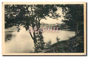 Old Postcard Around Saint Leonard Haute Vienne Lake Dam in Dognon Bridge
