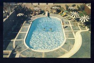 Hollywood, California/CA Postcard, Swimming Pool, Knickerbocker Hotel