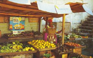 Fruit and Vegetable Stand St John's Antigua West Indies