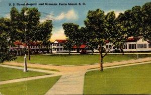 South Carolina Parris Island U S Naval Hospital and Grounds 1942