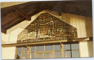 Alaska - Tlingit House Front - Sitka National Monument