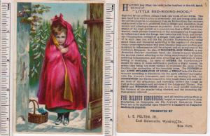 Little Red-Riding-Hood, East Gainesville, Wyoming Co. NY