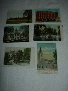 Concord NH - Lot Of 6 Great Vintage Postcards - x0573