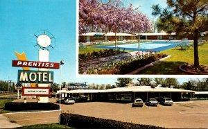 Mississippi Natchez Prentiss Motel 1978