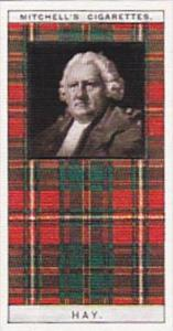 Mitchell Vintage Cigarette Card Clan Tartans No 12 HAY