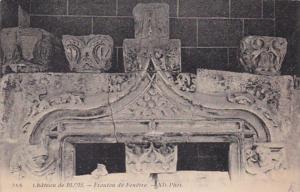 France Chateau de Blois Fronton de Fenetre