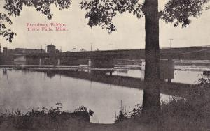 LITTLE FALLS, Minnesota, 1900-1910's; Broadway Bridge