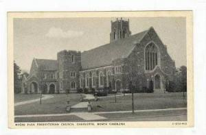 Myers Park Presbyterian Church, Charlotte, North Carolina, 1920-1940s