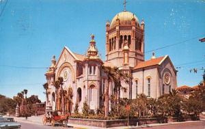 St Augustine Florida~Flagler Memorial Church~1960 Postcard