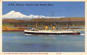 Princess Patricia Canadian Pacific Line Ship 1953