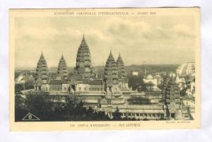 Temple D'Angkor-Vat, Vue Laterale, Paris, France, 1931