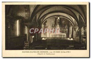 Old Post Card Notre Dame Domois by Ouges Cote d'Or