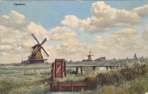 ZAANDAM (North Holland), Netherlands, 1900-1910s; Windmills