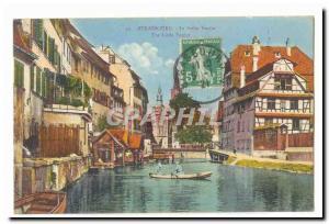 Strasbourg Postcard The Old Venice petie