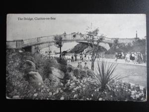 Essex CLACTON ON SEA The Bridge c1915 Old Postcard by Valentine 36155